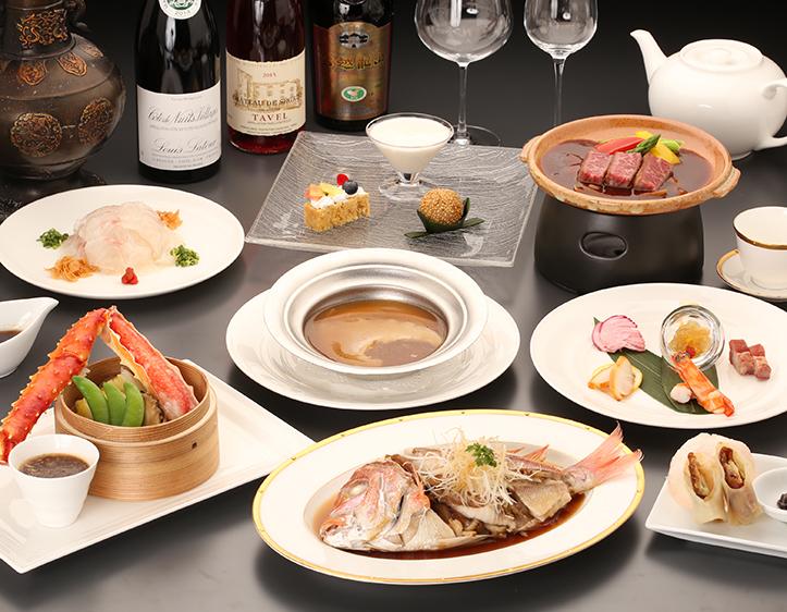 「龍遊里」 中国料理コース [一例]