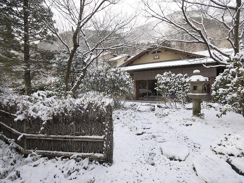 冬の青嵐荘