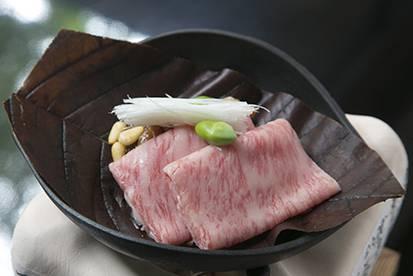 【和食】<Br>飛騨牛 朴葉味噌ステーキ