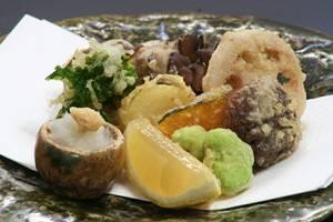 【和食】<Br>野菜の天婦羅