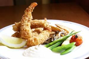 【洋食】<Br>海老フライ<br>ハーブの<br>タルタルソース添え