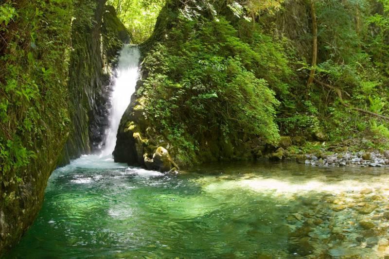 小坂の滝めぐり ガイドツアー