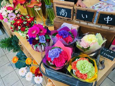 母の日☆感謝の気持ちをお花に込めて
