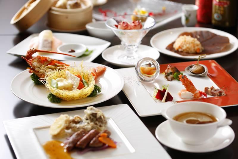 チャイナルーム「龍遊里」12月からのディナーコースメニューを更新しました