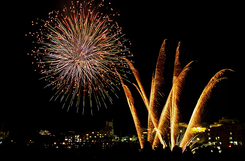 1月~3月毎週開催☆冬の夜空を彩る花火公演