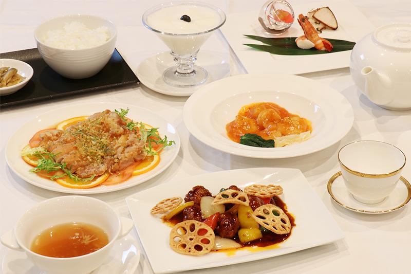 こだわりの食材が輝く新感覚の中国料理