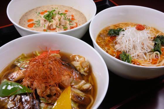 チャイナルーム「龍遊里」オリジナル中華麺セット