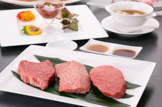 【飛騨牛づくしプラン】飛騨の特産≪飛騨牛≫を贅沢に使用!中国風ステーキはフランベの演出で♪