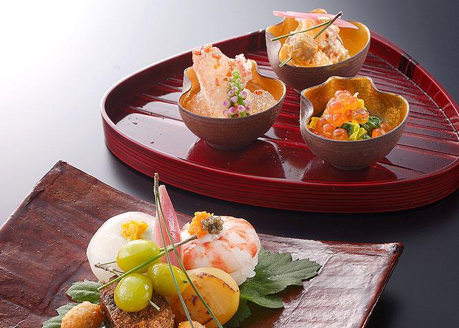 객실에서 일본요리