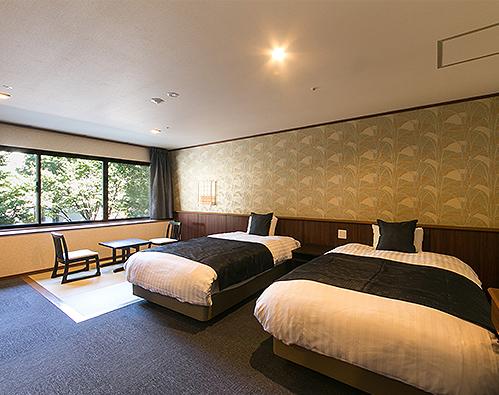 雙床房/三人房,附榻榻米空間 -禁煙-